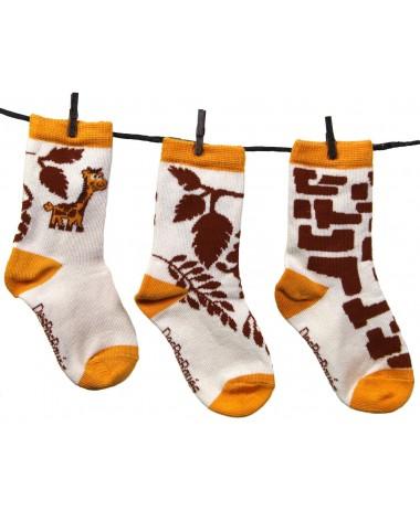 DespasRayés - Chaussettes Bébé Girafon